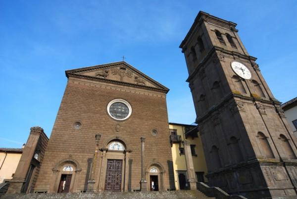 La Quercia frazione di Viterbo - la Basilca della madonna